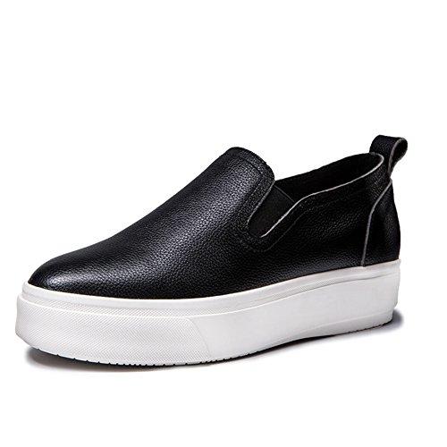 Le Fu/Zapatos de suela gruesos de la torta/zapatos casuales/Fija los pies zapatos A