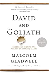 David and Goliath: Underdogs, Misfits, and the Art of Battling Giants Paperback