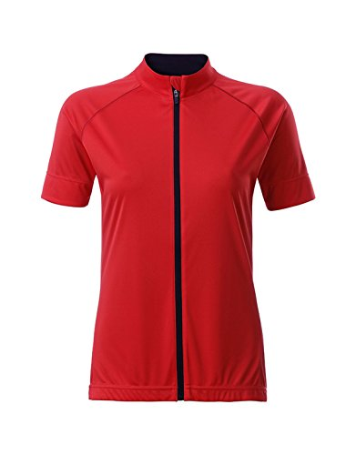 Total 2store24 Jersey Maillot Femme black Tomato Zip Cycliste En IrrwAq