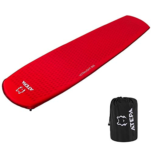 ATEPA Lightweight Compact Self Inflating Sleeping Pads for Camping Backpacking Hiking