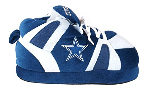 Feet Dallas Slippers Comfy Sneaker LICENSED NFL Cowboys Happy OFFICIALLY Womens and Feet Mens aEEfw6q