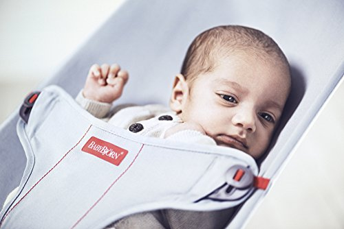 BabyBjorn Mini Cotton Bouncer, Gray/Jersey by BabyBjörn (Image #5)