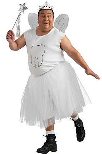 [Tooth Fairy Costume - Plus Size - Chest Size 46-50] (Tooth Fairy Costumes)