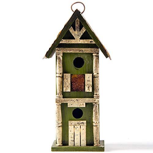 Glitzhome Birdhouse Green