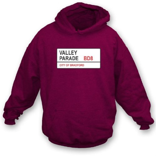 Valley Parade BD8 Hooded Sweatshirt Bradford City XX-Large