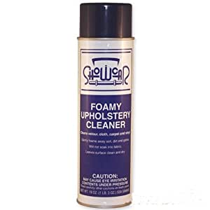show car products foamy upholstery cleaner 1 can automotive. Black Bedroom Furniture Sets. Home Design Ideas