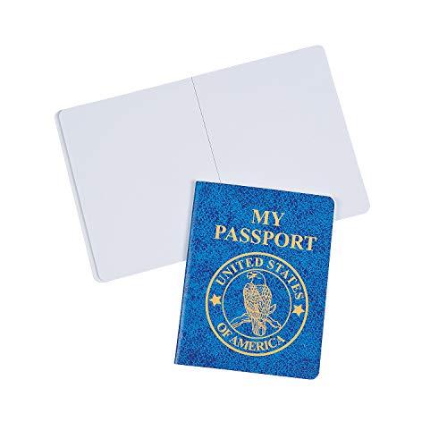 Fun Express - Passport Notepads - Stationery - Notepads - Notepads - 24 Pieces