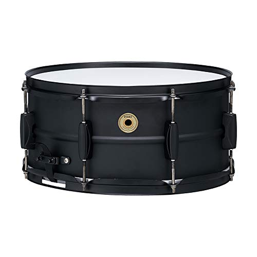 Tama Steel Snare Drum - 6.5 Inches X 14 Inches - Black Black