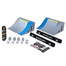 Tech Deck - SLS Pro Series Skate Park – Quarter Pipes with Gap and Signature Pro Board