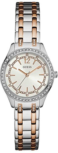 Watch Guess Women White Steel Ellis W0830L1