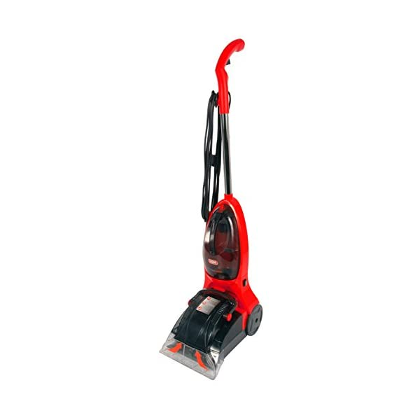 Vax VRS18W Power Max Carpet Washer, 24 cm Wide Stainless Steel Cleaning Nozzle, 500 W - Red