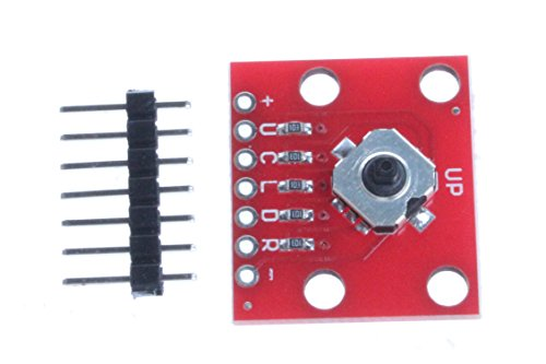 NOYITO 5-Way Tactile Switch Breakout Development Board Up Down Left Right Center Click Transfer Switch Module