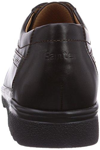 zapatos 200 hombre cordones Weite Ganter cuero Espresso ERIC con de G RR8vtxO