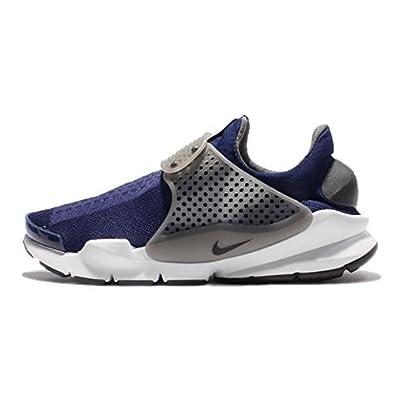 check out afd75 4c6fb Nike Men s Sock Dart KJCRD Binary Blue Black-Dark Grey  Buy Online at Low  Prices in India - Amazon.in