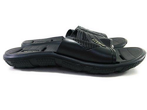 Nicoboco Black Sandals Men's Black Thong vxqOwrv
