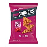 POPCORNERS Sweet Chili, Popped Corn Snacks, 3oz (Pack of 12)