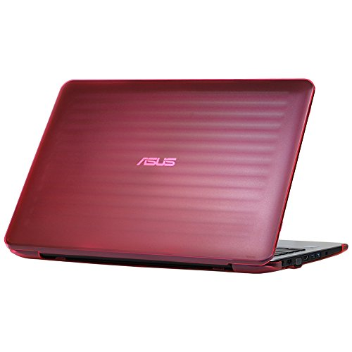 iPearl mCover Hard Shell Case for 15.6 ASUS F555LA Series Windows Laptop (Pink)