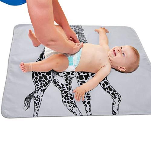 V5DGFJH.B Baby Portable Diaper Changing Pad Funny Eiffel