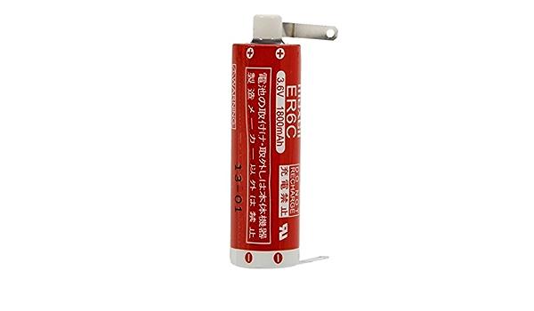 6,5Wh Lithium SPS-Lithiumbatterie kompatibel mit Maxell Typ ER6C 3,6V 1800mAh