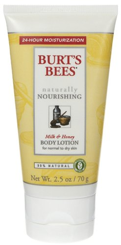 Price comparison product image Burt's Bees Milk and Honey Body Lotion, 2.5 oz