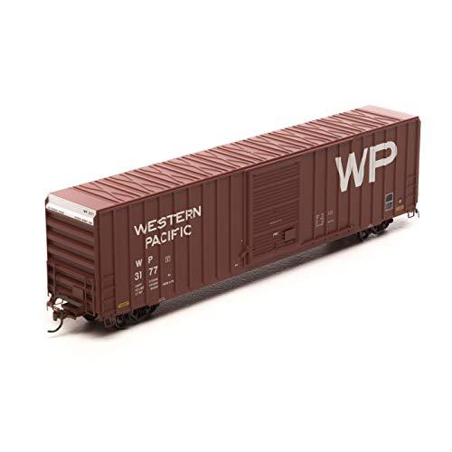 Athearn HO RTR FMC 60' Hi-Cube Ex-Post Box WP Brown -