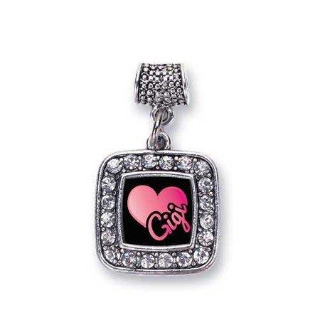 7377f11f7 Amazon.com: Gigi Charm Fits Pandora Bracelets & Compatible with Most ...