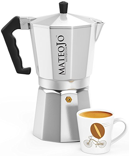 Cuban Coffee Maker Name : Stovetop Espresso Maker - Italian Moka Pot - Cafetera - Cuban Coffee Machine - Extra-Large by ...