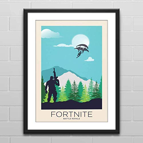 (Battle Royale Landscape - Gaming Poster)