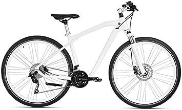 Original BMW Cruise Bike/bicicleta en Mineral White / Silver ...