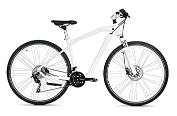 Original BMW Cruise Bike/bicicleta en mineral White/Silver – Tamaño L