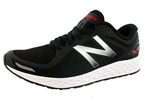 New Balance Men's Fresh Foam ZANTEV2 Run-M, Black/Silver, 10 D US