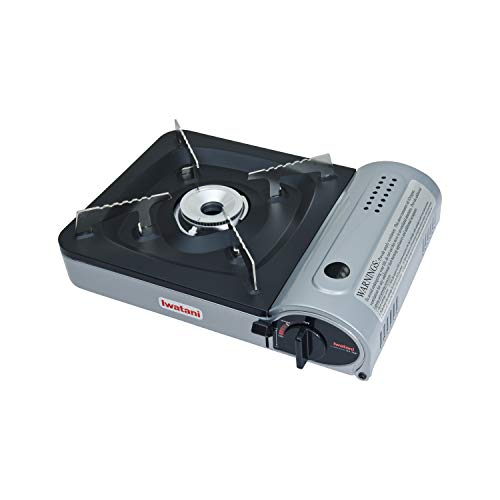 Iwatani Corporation of America Iwatani of America ZA-3HP Portable Butane Stove Burner, Medium, Metallic