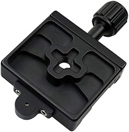 CHENZHIQIANG Camera Accessories Wholesales FMA-60 Dual-use Knob Quick Release Clamp Adapter Plate Mount for Arca Swiss//RRS//SUNWAYFOTO Quick Release Plate