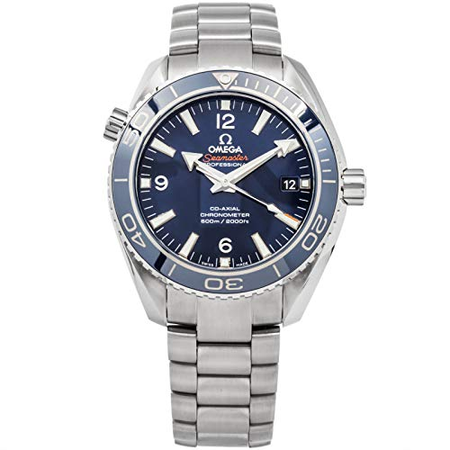 Omega Titanium Bracelet - Omega Seamaster Mechanical (Automatic) Blue Dial Mens Watch 232.90.42.21.03.001 (Certified Pre-Owned)