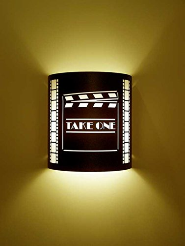 Take One Director Black Home Movie Theater Sconces w/ Filmstrips by Stargate
