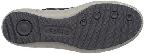 Legero TANARO - zapatilla deportiva de piel mujer azul - Blau (OCEAN 80)