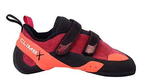 1b02cba75b426 Climb X Red Point NLV Women's Climbing Shoe 2019 (Women's 6.5/ Men's 5, Red)