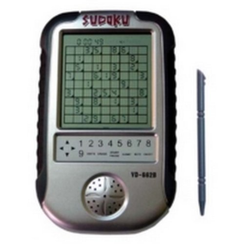 Electronic Sudoku Portable Handheld Brain Game Puzzle with Millions of Sudoku (Electronic Sudoku Puzzle)