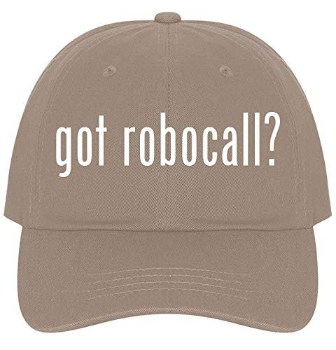 The Town Butler got Robocall? - A Nice Comfortable Adjustable Dad Hat Cap, Khaki (Best Robocall Blocker App)