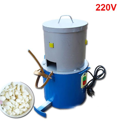 TOPCHANCES Garlic Peeling Machine Electric Garlic Peeler 220V for Household and Commercial by TOPCHANCES