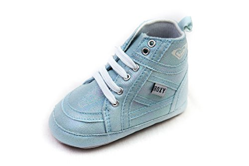 Roxy Crib Baby Shoes with Glitter Stretch (6-9 months)