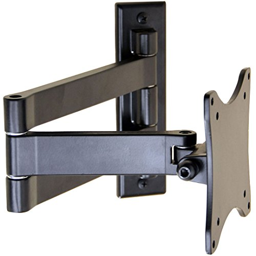 VideoSecu Swingout Arm Wall Mount for LG 19 to 42 Inch Models LCD Flat Panel Screen TV or Monitor VESA 100X100mm 1S6