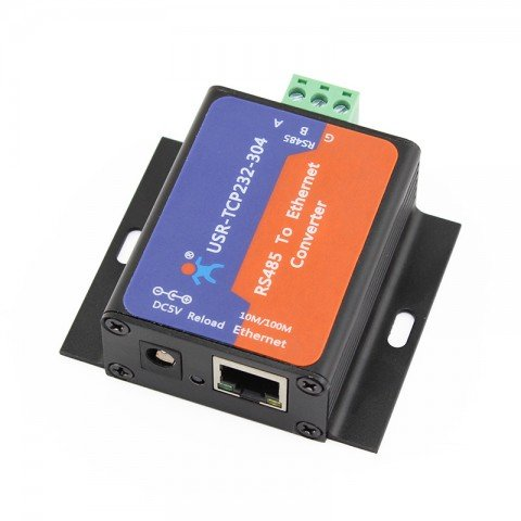(USR-TCP232-304 Serial RS485 to Ethernet Server Converter TCP/IP Built-in Webpage)