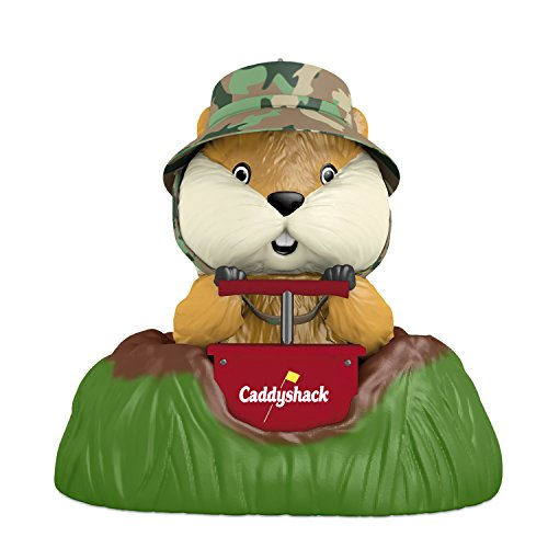 Hallmark Keepsake 2017 CADDYSHACK A Dynamite Gopher