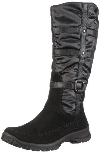 Schwarz Black Boots Schwarz Trekking Women's Legero ZqB7T7