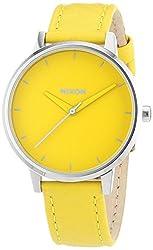 Nixon A108-1806 Ladies The Kensington Leather Yellow ModWatch