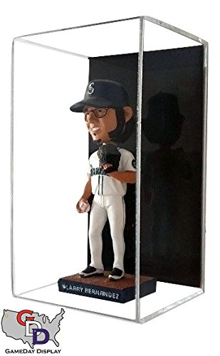Bobble Head Display Case - Acrylic Wall Mount Bobblehead Display Case by GameDay Display