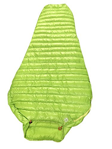 AEGISMAX Outdoor Urltra-Light Goose Down Sleeping Bag Three-Season Down Sleeping Bag Mummy Down Sleeping Bag Green L200cmW86cm