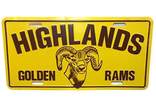 Used, Anticuria Highlands High School Golden Rams Mascot for sale  Delivered anywhere in USA