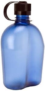 Nalgene 340953 OASIS Blue Bottle With Black Cap, 32 oz